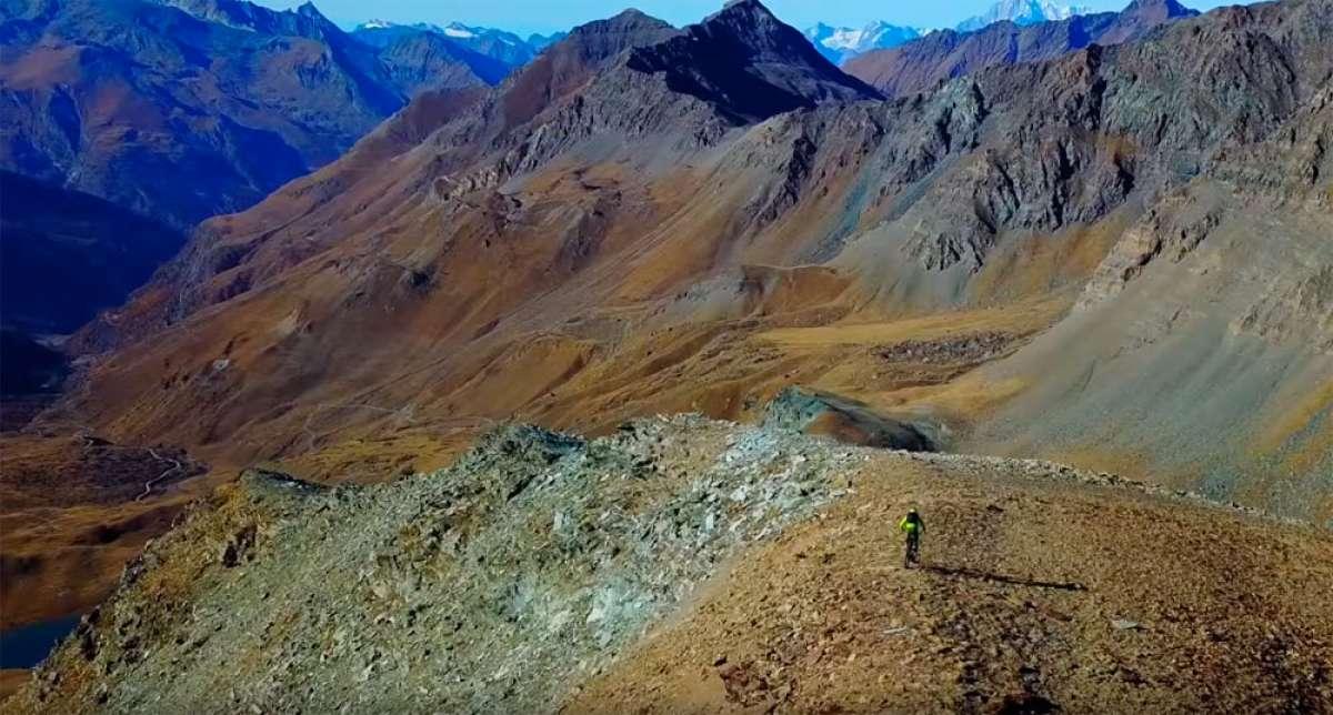Rodando por el Valle de Aosta (Italia) con Tito Tomasi