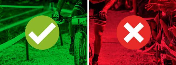 Las ventajas y desventajas de pedalear de pie sobre la bicicleta