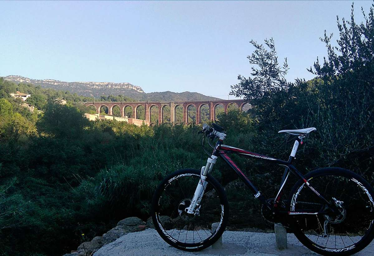 En TodoMountainBike: La foto del día en TodoMountainBike: 'Viaducto dels Masos'