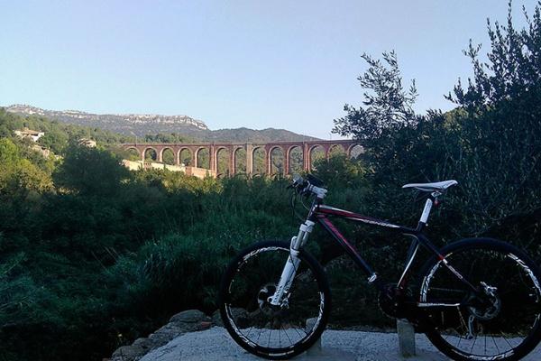La foto del día en TodoMountainBike: 'Viaducto dels Masos'