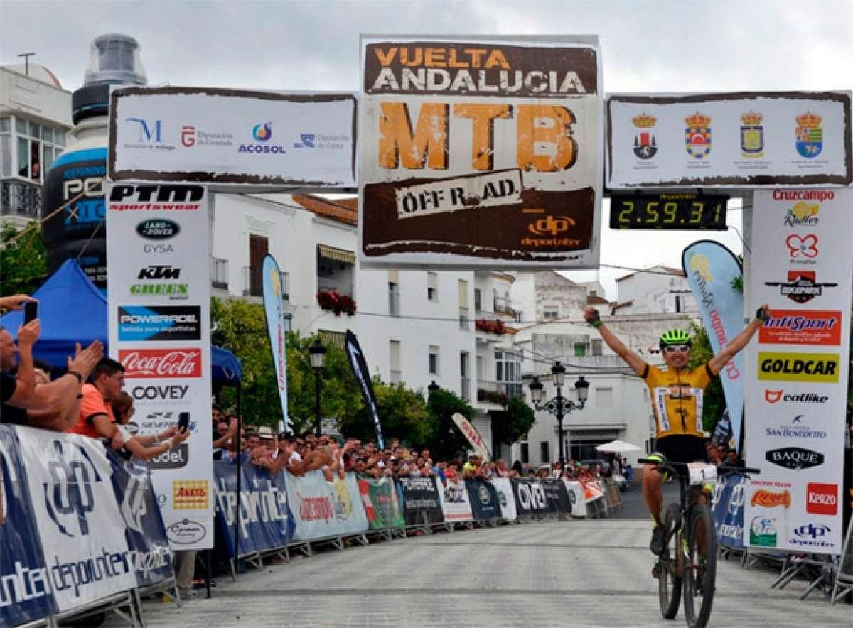 Los mejores momentos de la Vuelta Andalucía MTB 2017