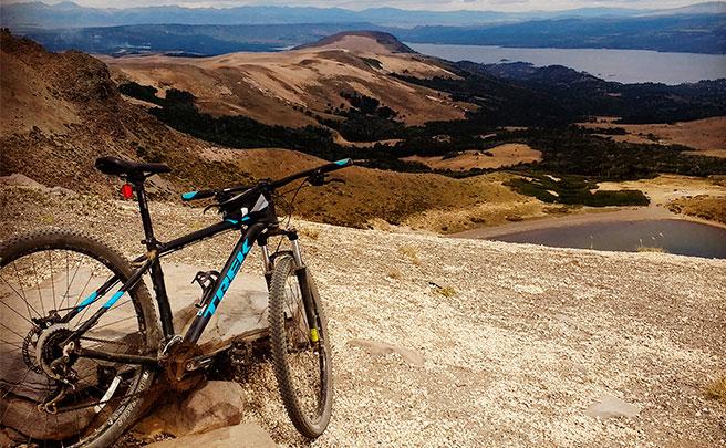La foto del día en TodoMountainBike: 'Conquistando Los Andes'