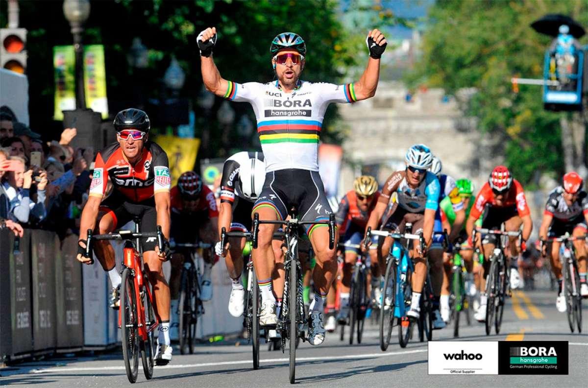 Los ciclocomputadores Wahoo entran en la élite del ciclismo con Peter Sagan y el equipo Bora-Hansgrohe