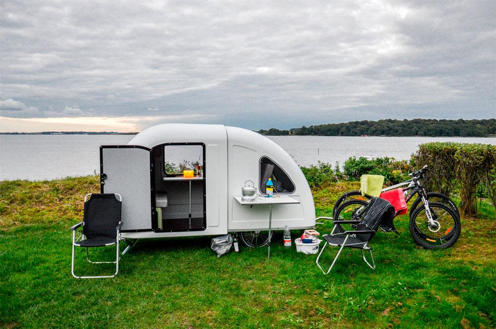 En TodoMountainBike: Wide Path Bicycle Camper, una caravana diseñada para bicicletas