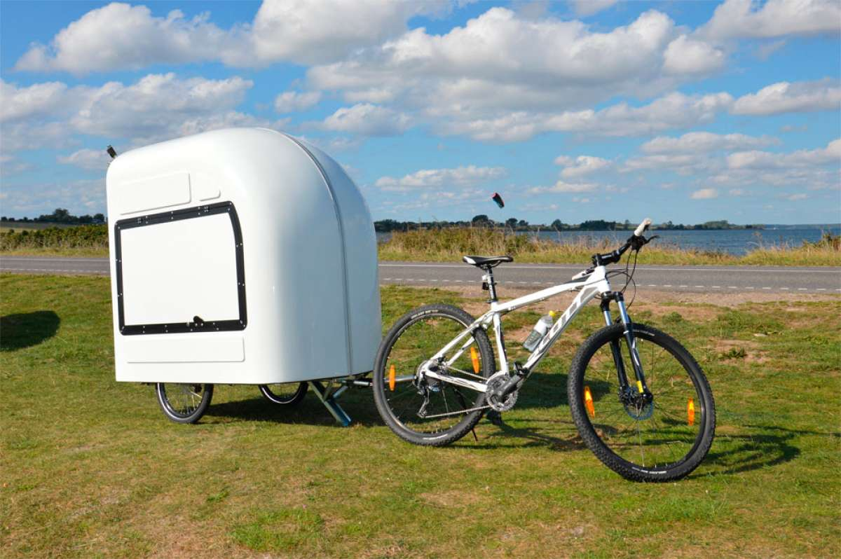 Wide Path Bicycle Camper, una caravana diseñada para bicicletas