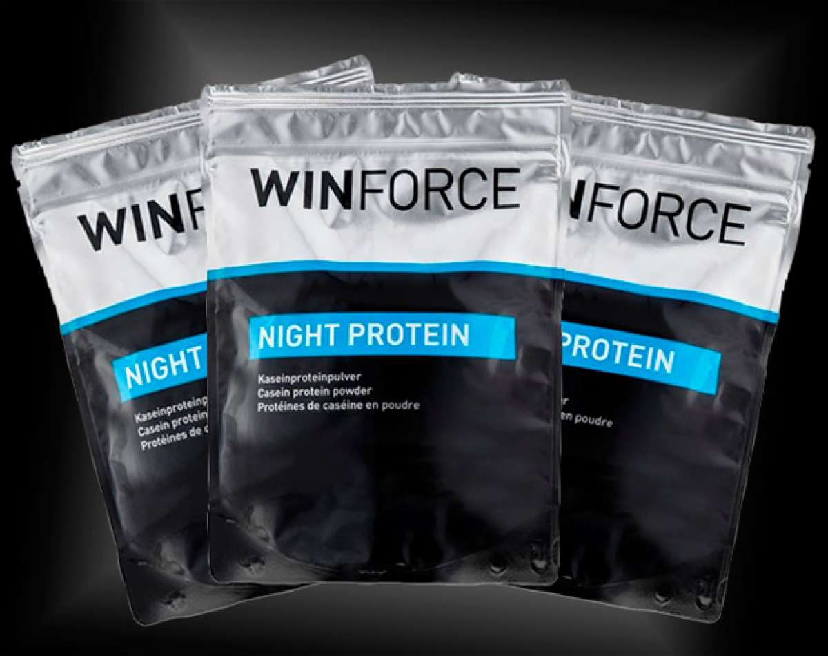 En TodoMountainBike: Winforce Night Protein, proteínas nocturnas para optimizar la regeneración muscular
