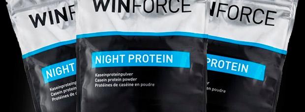 Winforce Night Protein, proteínas nocturnas para optimizar la regeneración muscular