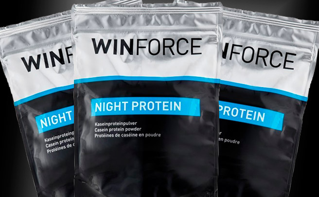 Winforce Night Protein, proteínas nocturnas para optimizar la regeneración muscular
