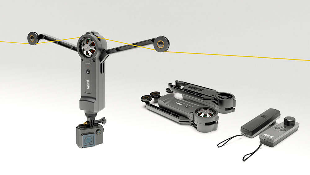 En TodoMountainBike: Wiral LITE, un ingenioso sistema por cable para capturar tomas en movimiento con todo tipo de cámaras