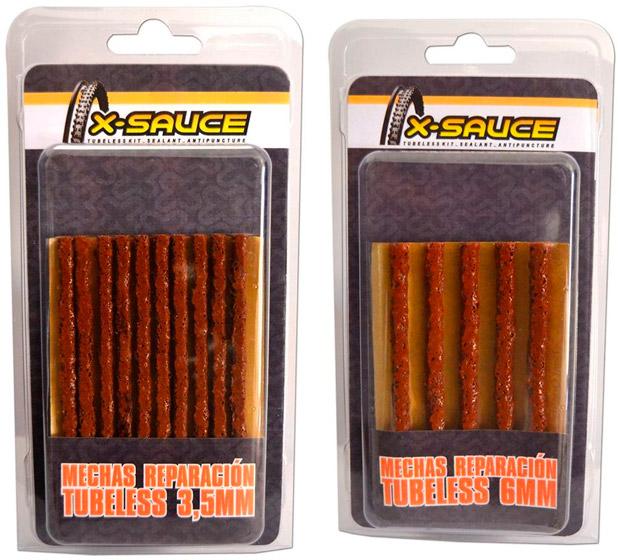 En TodoMountainBike: Adiós a los pinchazos con los nuevos kits de mechas de X-Sauce