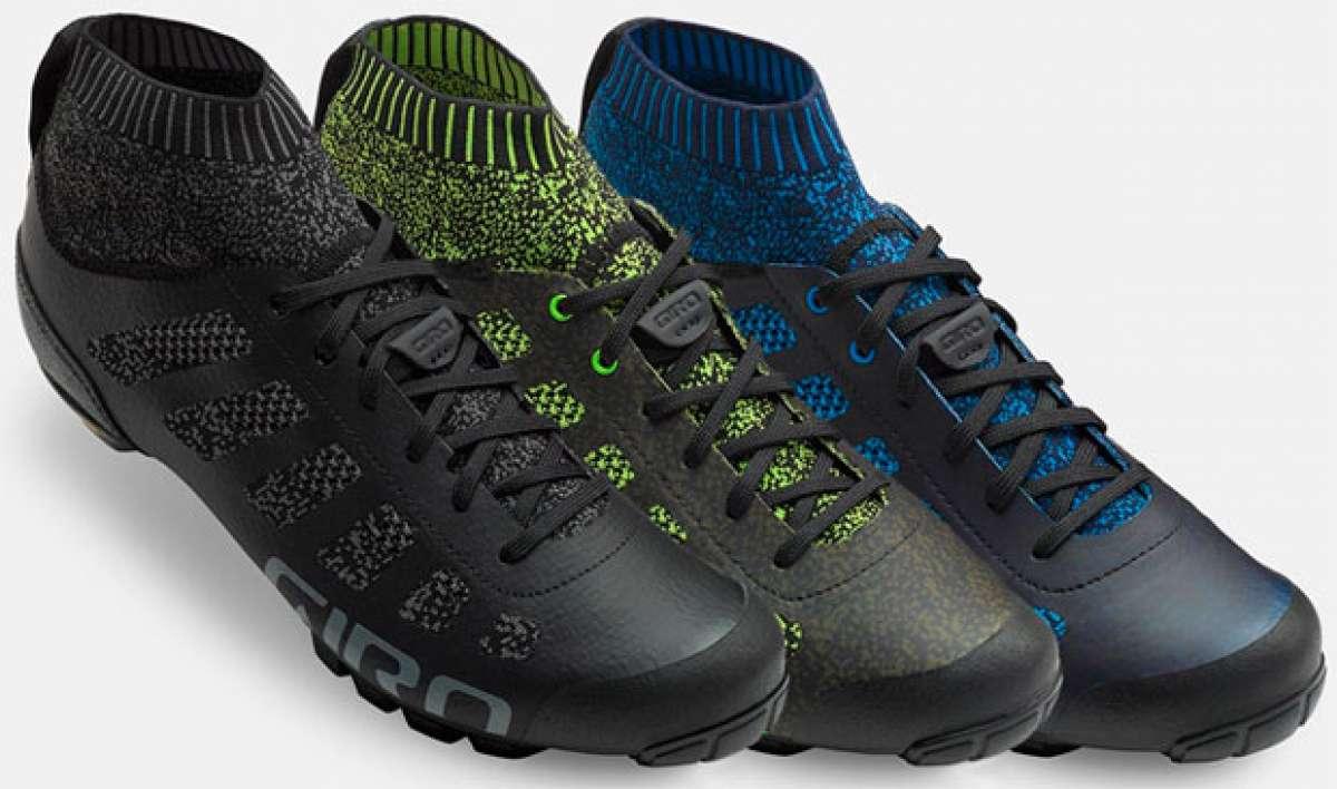 Giro Empire VR70 Knit, un nuevo concepto de zapatillas para ciclistas de montaña
