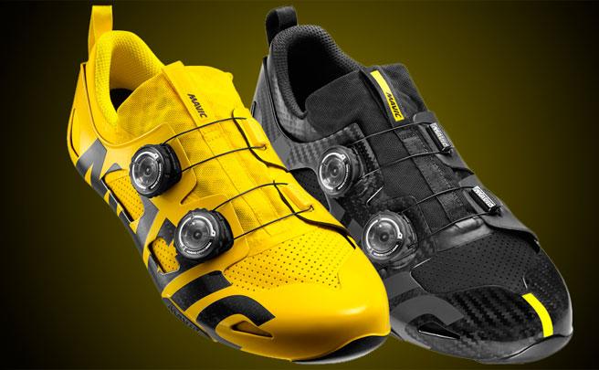 Edición limitada en color amarillo para las zapatillas Mavic Comete Ultimate, y más colores para los botines