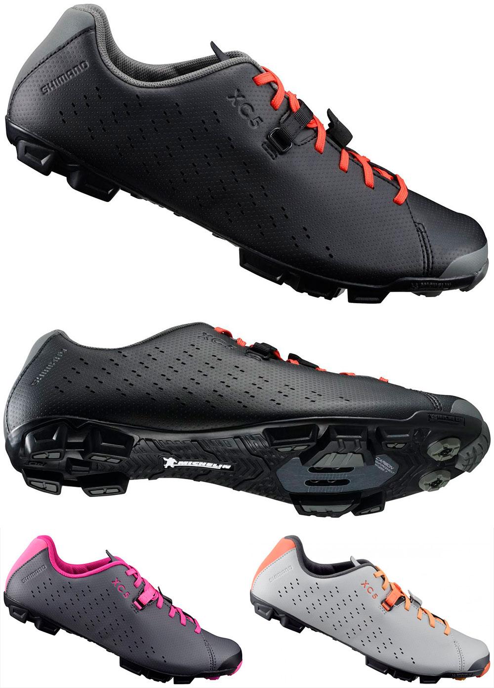 En TodoMountainBike: Cierre por cordones y suela Michelin para las zapatillas Shimano XC5
