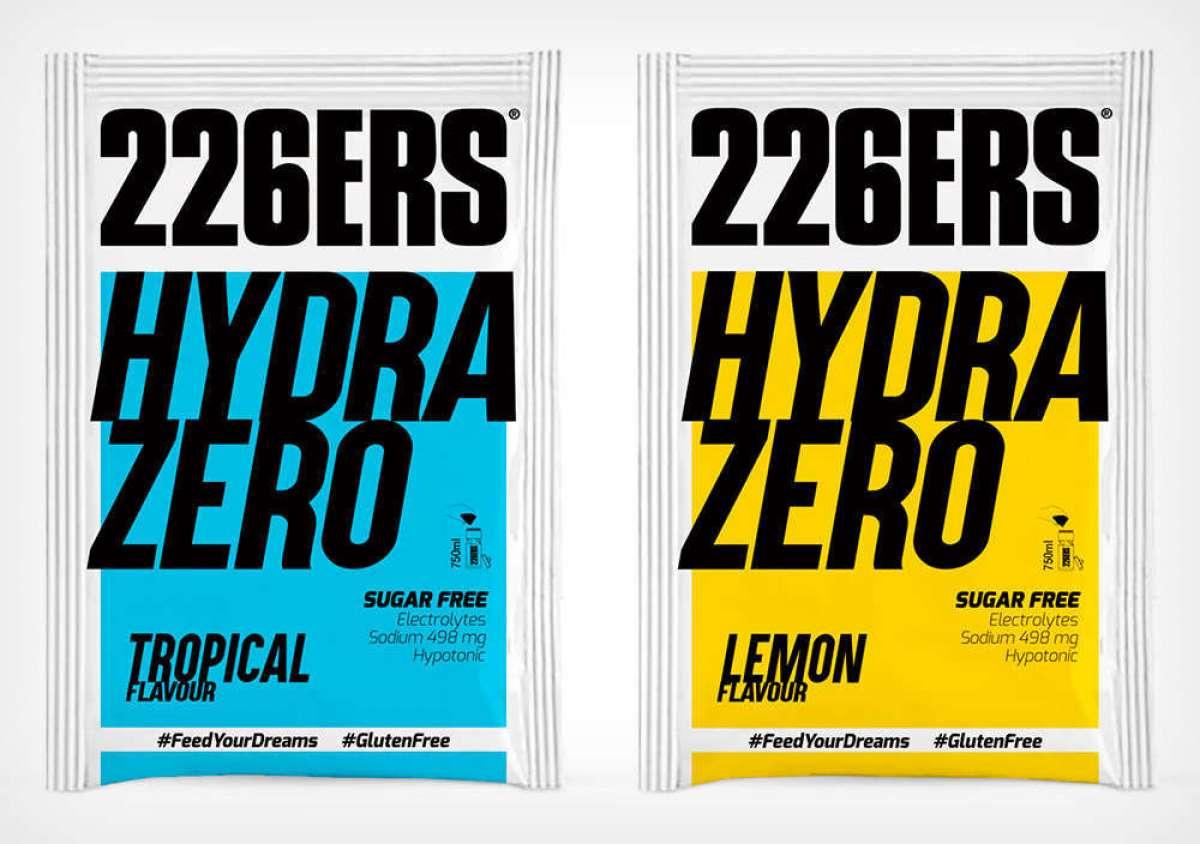 226ERS lanza Hydrazero, una bebida hipotónica para recuperar sales minerales sin sumar calorías