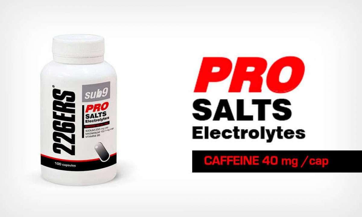 Sales minerales con cafeína: llegan las Sub9 Pro Salts Electrolytes de 226ERS