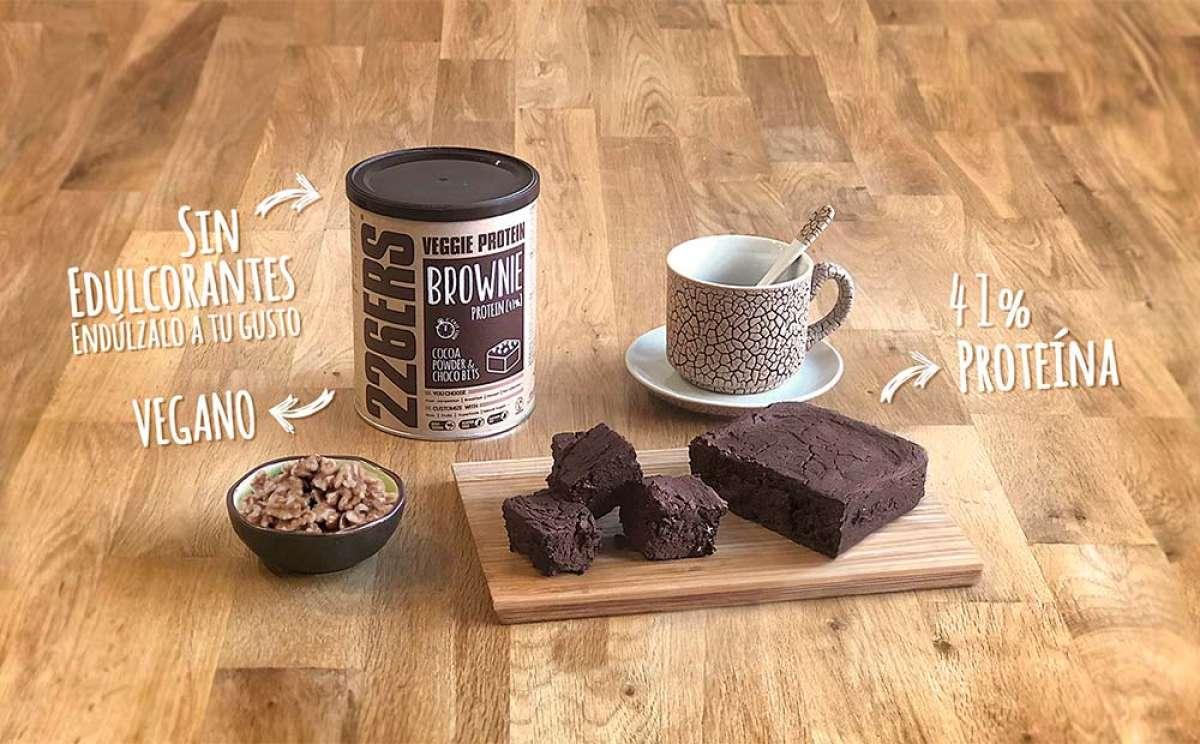 ¿Un pastel de chocolate con un 41% de proteína? Sí, el Veggie Protein Brownie de 226ERS