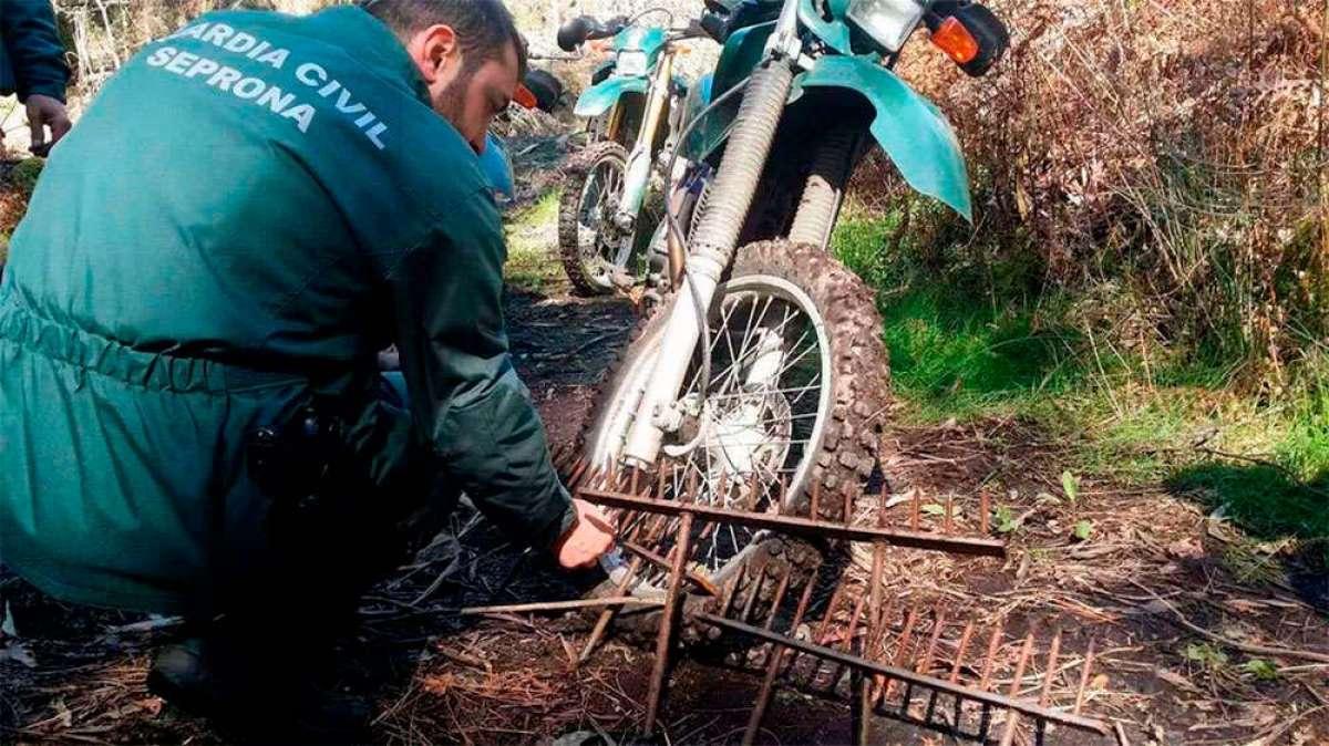 Absueltos los cuatro comuneros acusados de colocar la piedra que dejó paralítico a un ciclista en Valladares