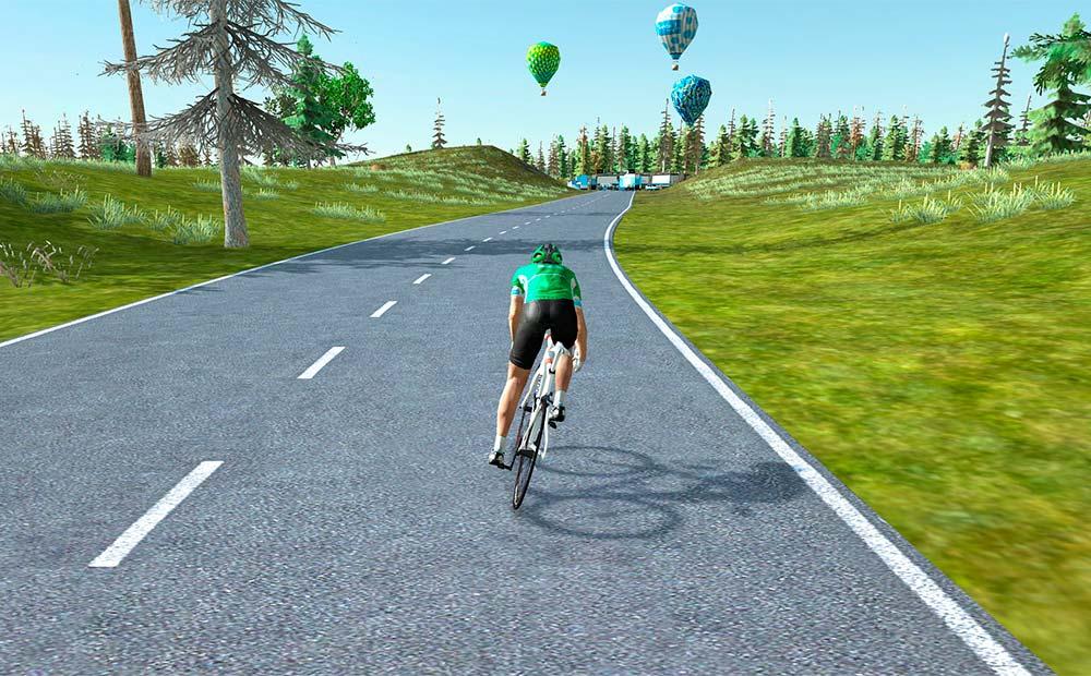 En TodoMountainBike: El simulador Bkool se actualiza: cámara de TV, más compatibilidad con rodillos, modo offline y más