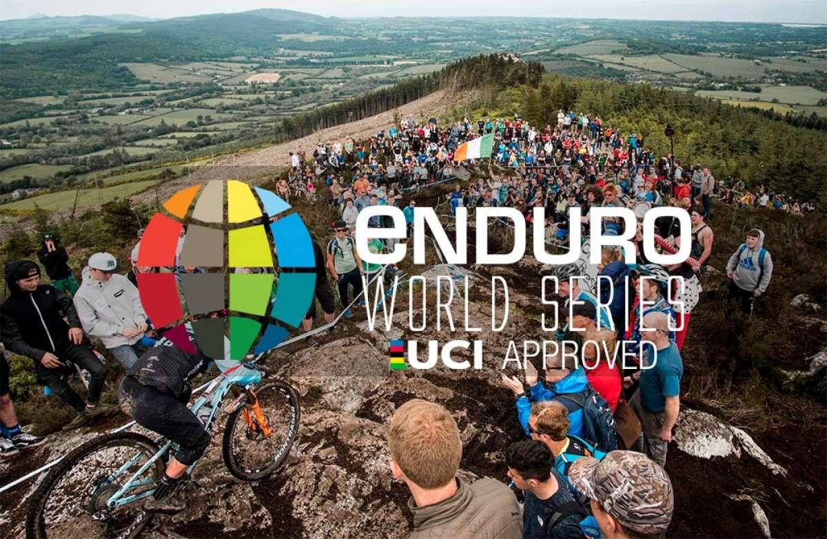 Los maillots arcoíris de la UCI (y los controles antidopaje) llegan a las Enduro World Series a partir de 2019