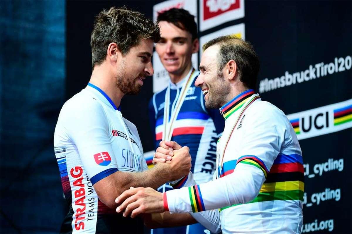 Alejandro Valverde hace historia en Innsbruck y se convierte en campeón del mundo de ciclismo en ruta