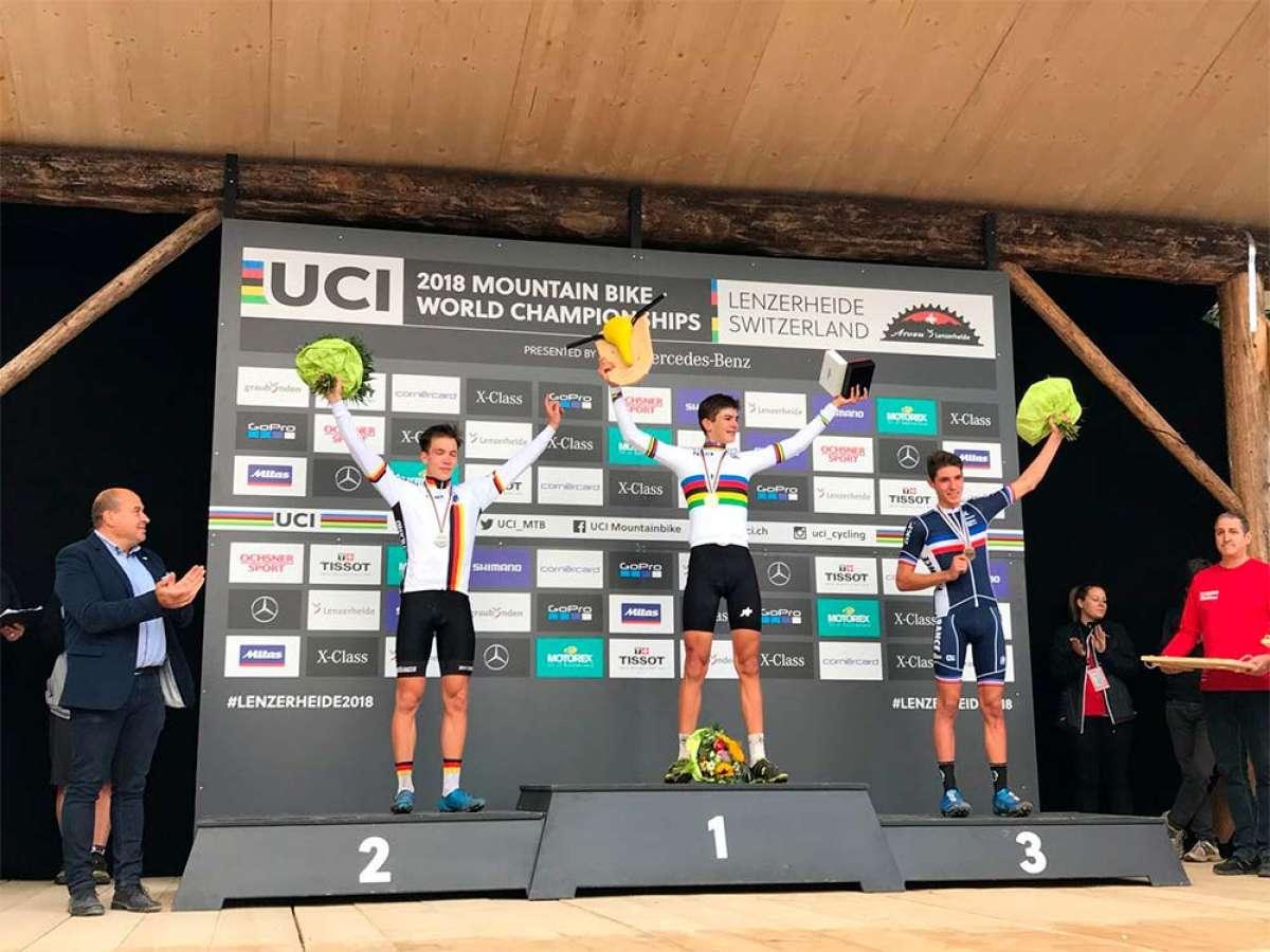 Alexandre Balmer se proclama en Lenzerheide campeón del mundo de XCO en categoría Junior