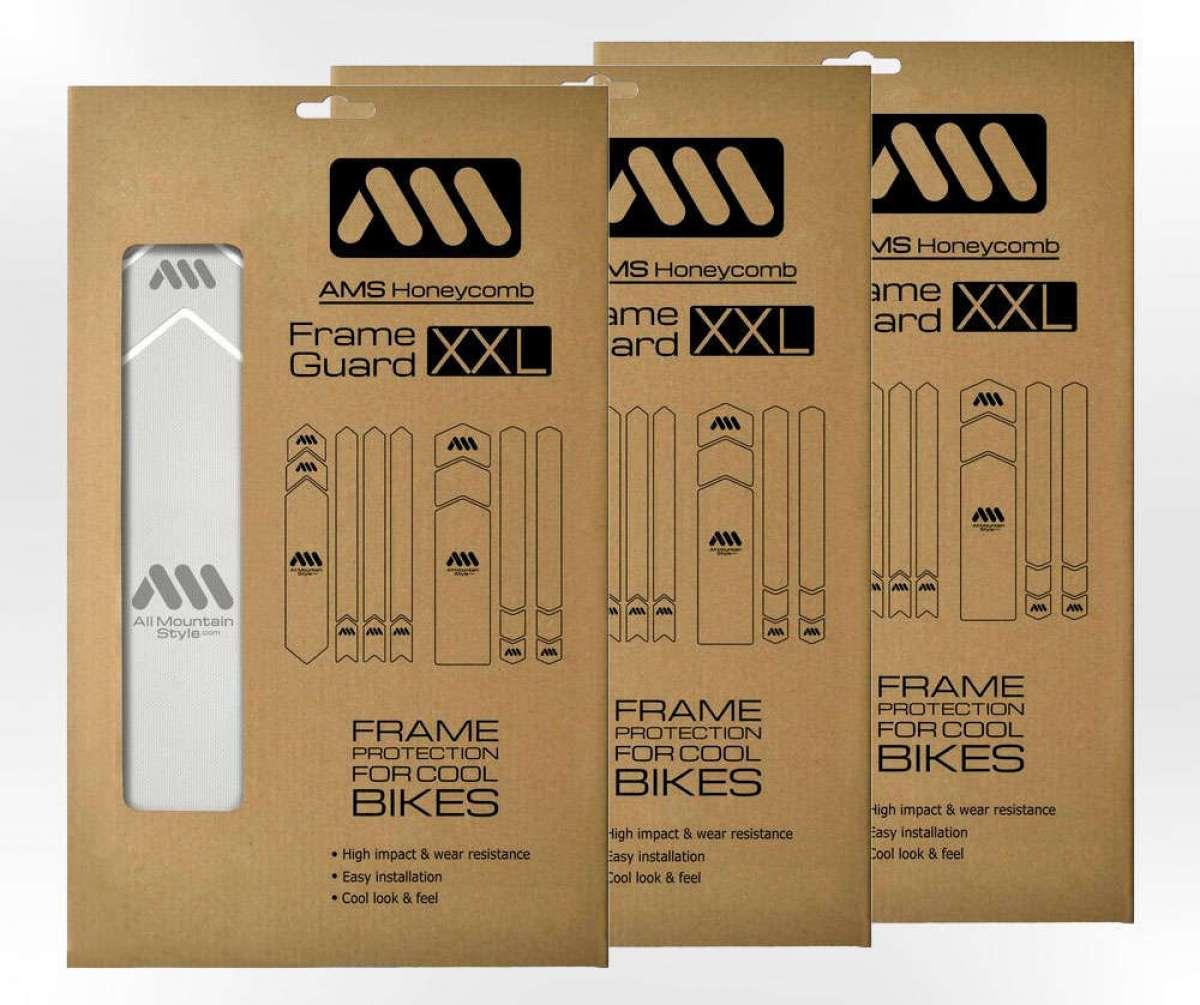 Versión XXL para el protector de cuadro AMS Honeycomb Frame Guard
