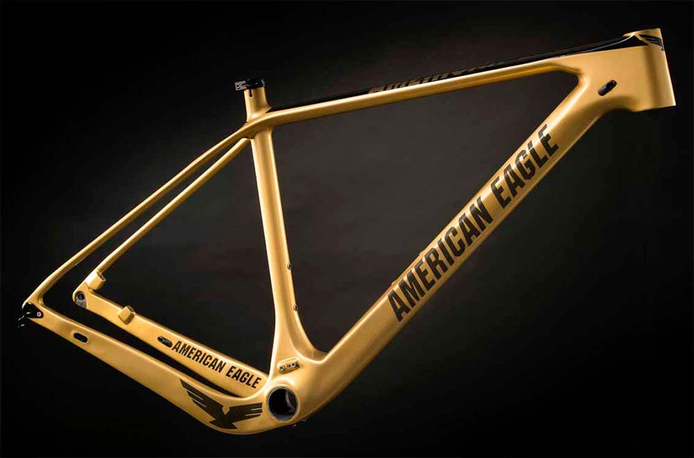En TodoMountainBike: American Eagle Atlanta 2.0 Gold LTD, una exclusiva edición limitada en color oro firmada por Bart Brentjens