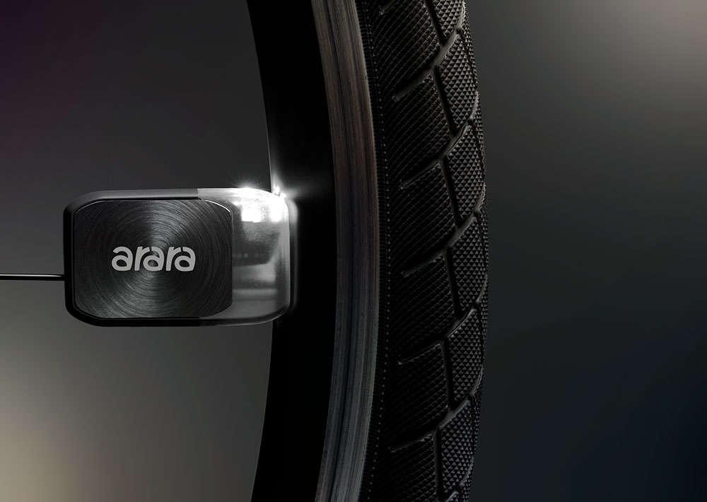 En TodoMountainBike: Arara, unas llamativas luces de rueda por inducción magnética que funcionan sin batería