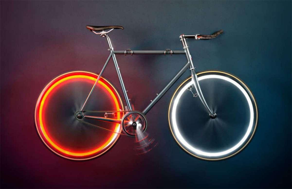 Arara, unas llamativas luces de rueda por inducción magnética que funcionan sin batería