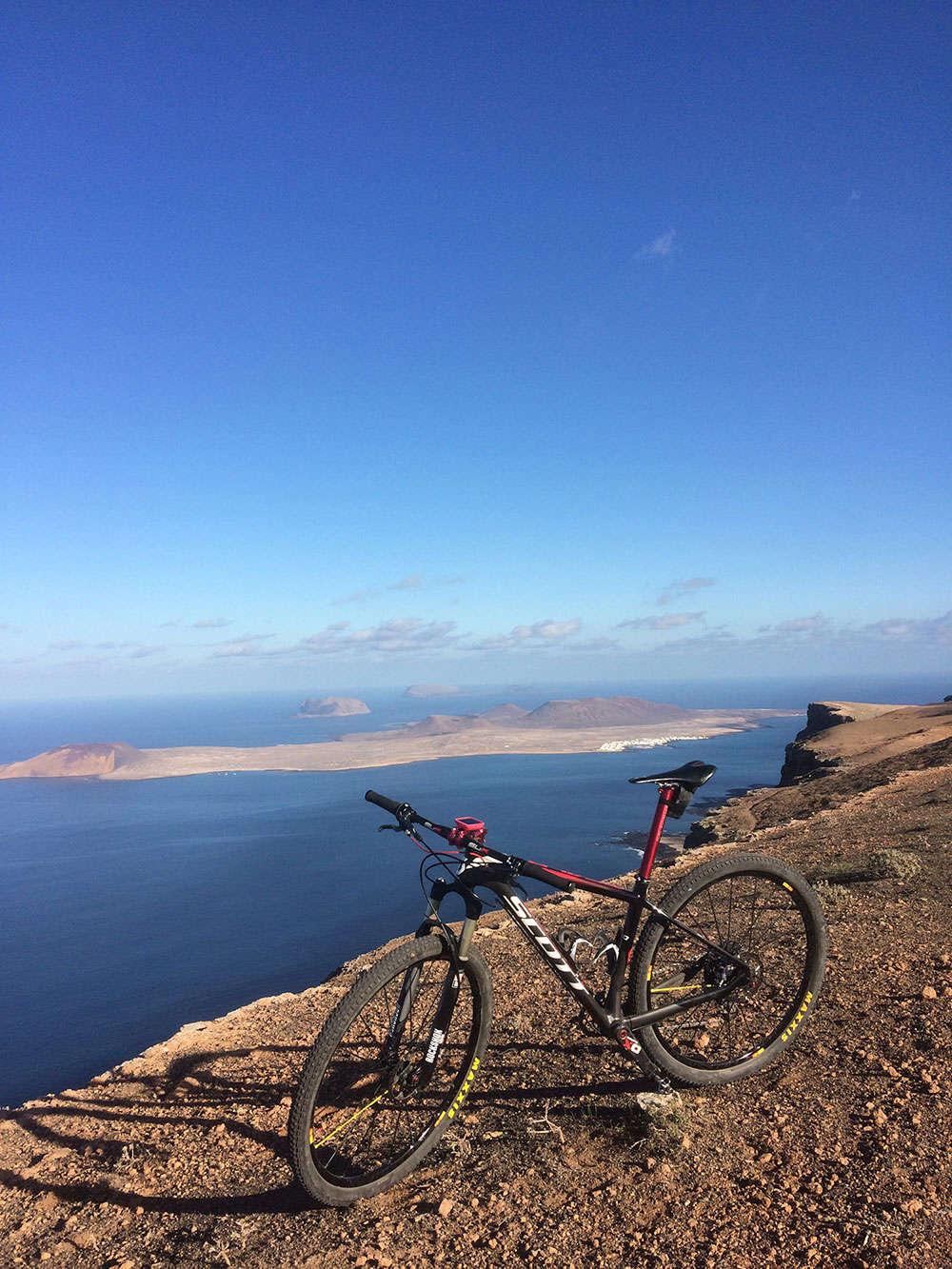 """La foto del día en TodoMountainBike: """"Norte de Lanzarote"""""""