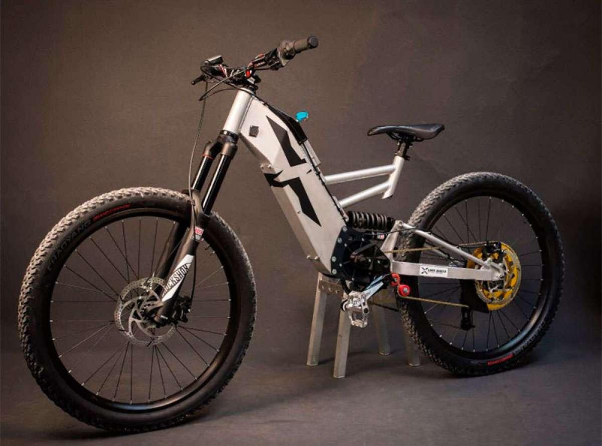 Probando las potentes LMX 161-H (Motocross) y LMX 81 (e-MTB) con Aurélien Fontenoy