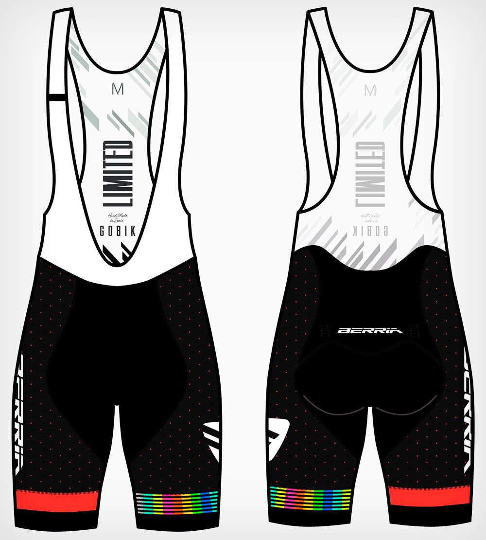En TodoMountainBike: Berria Bike presenta su equipación de 2019: maillot Rocket, culotte Limited y gorra Vintage