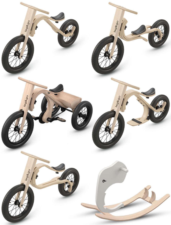 En TodoMountainBike: Leg & Go, una bicicleta multifuncional para niños de 6 meses a 6 años