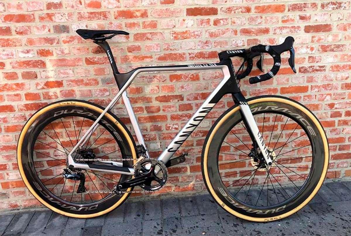 Las tres bicicletas con las que Mathieu van der Poel se ha convertido en tricampeón de Holanda