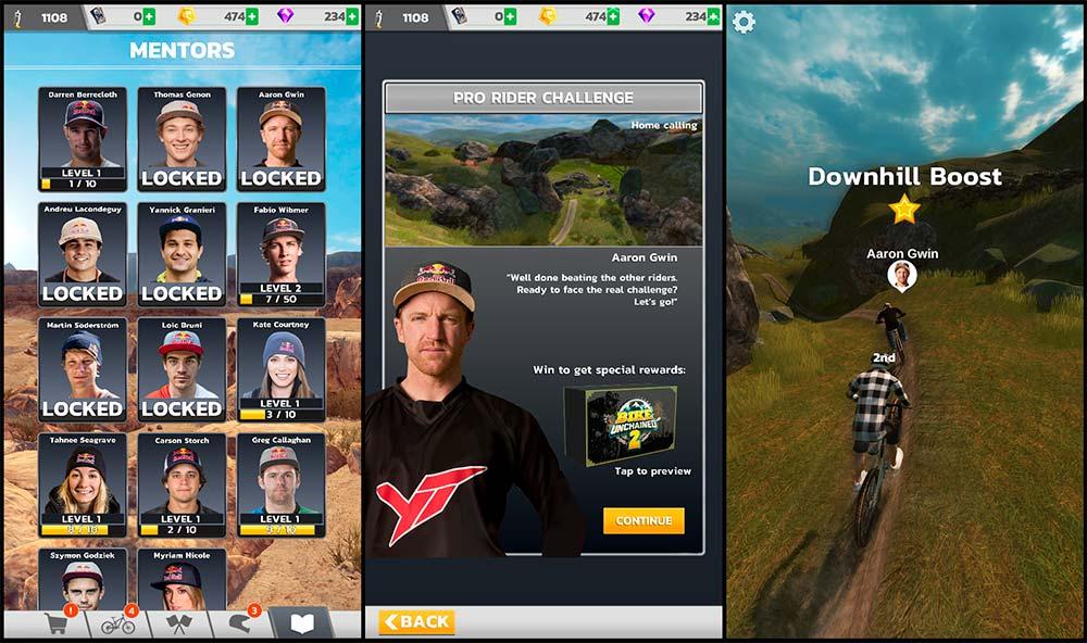 En TodoMountainBike: Ya disponible Bike Unchained 2, el videojuego de Red Bull para emular a los mejores pilotos de DH y Slopestyle