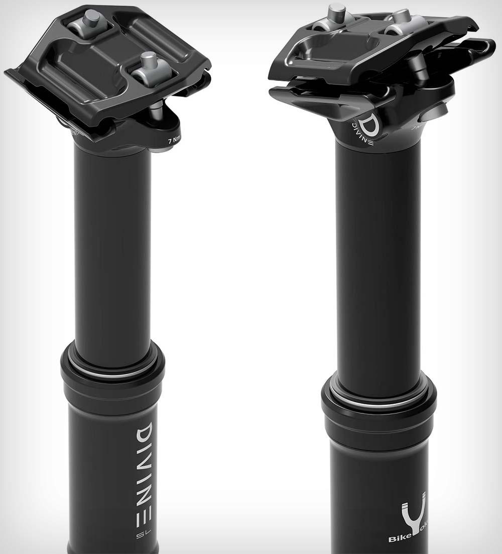 En TodoMountainBike: La tija telescópica más ligera del mundo para bicis de XC/Maratón: llega la BikeYoke Divine SL