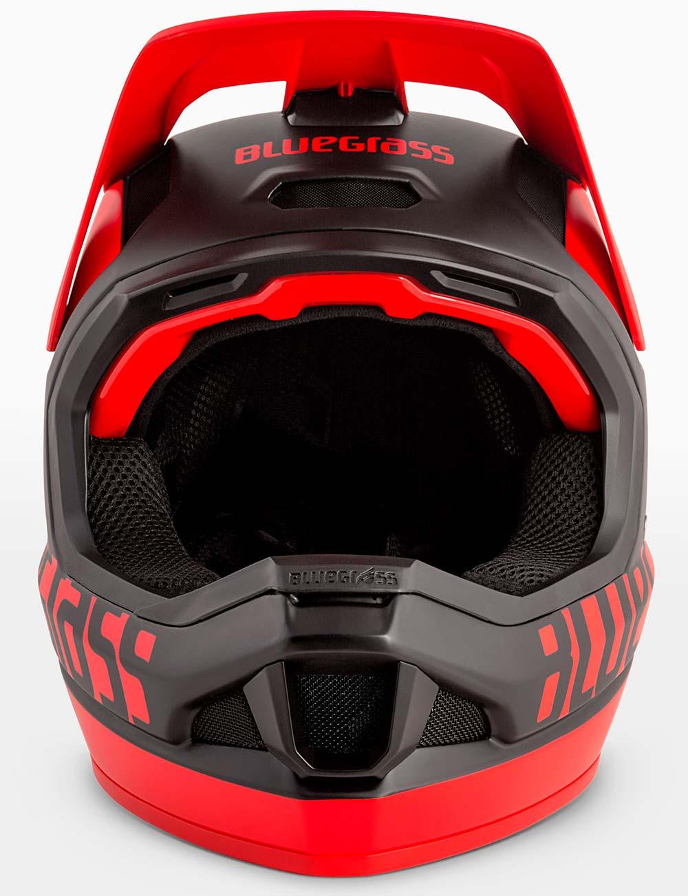Carcasa de carbono y protección MIPS:E2 para el casco integral Bluegrass Legit Carbon