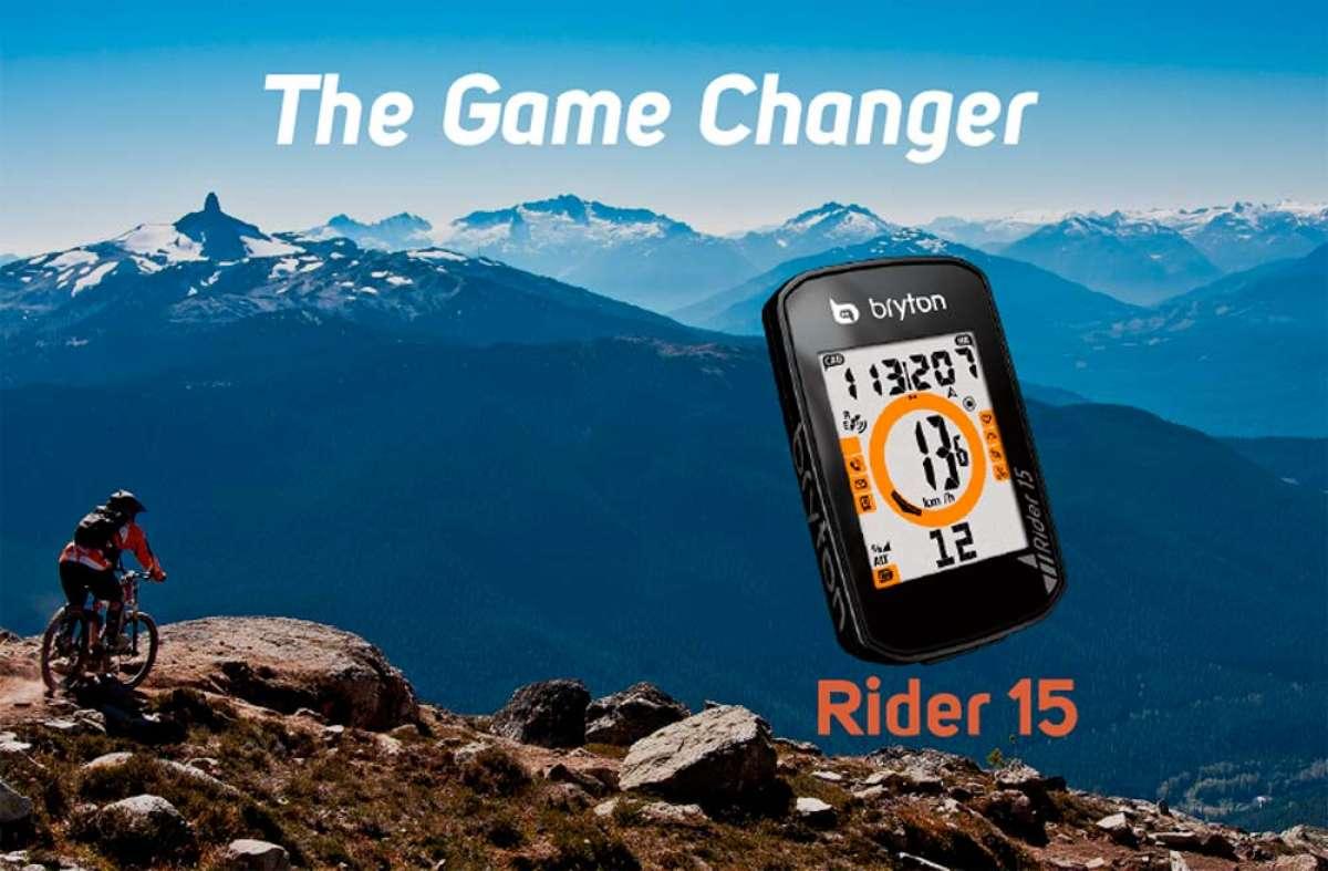 Bryton Rider 15, un ciclocomputador repleto de funciones con un precio irresistible