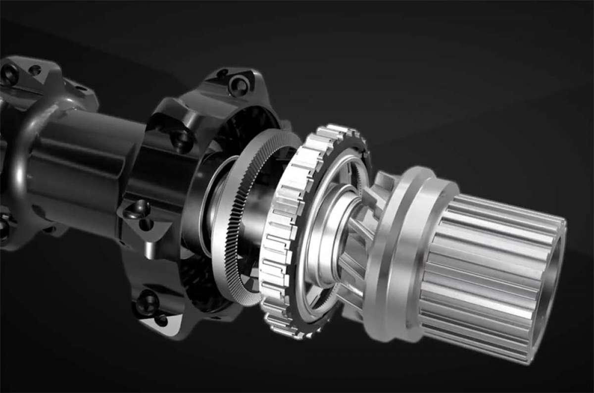 Así funciona el buje trasero Shimano XTR M9100 con tecnología Scylence