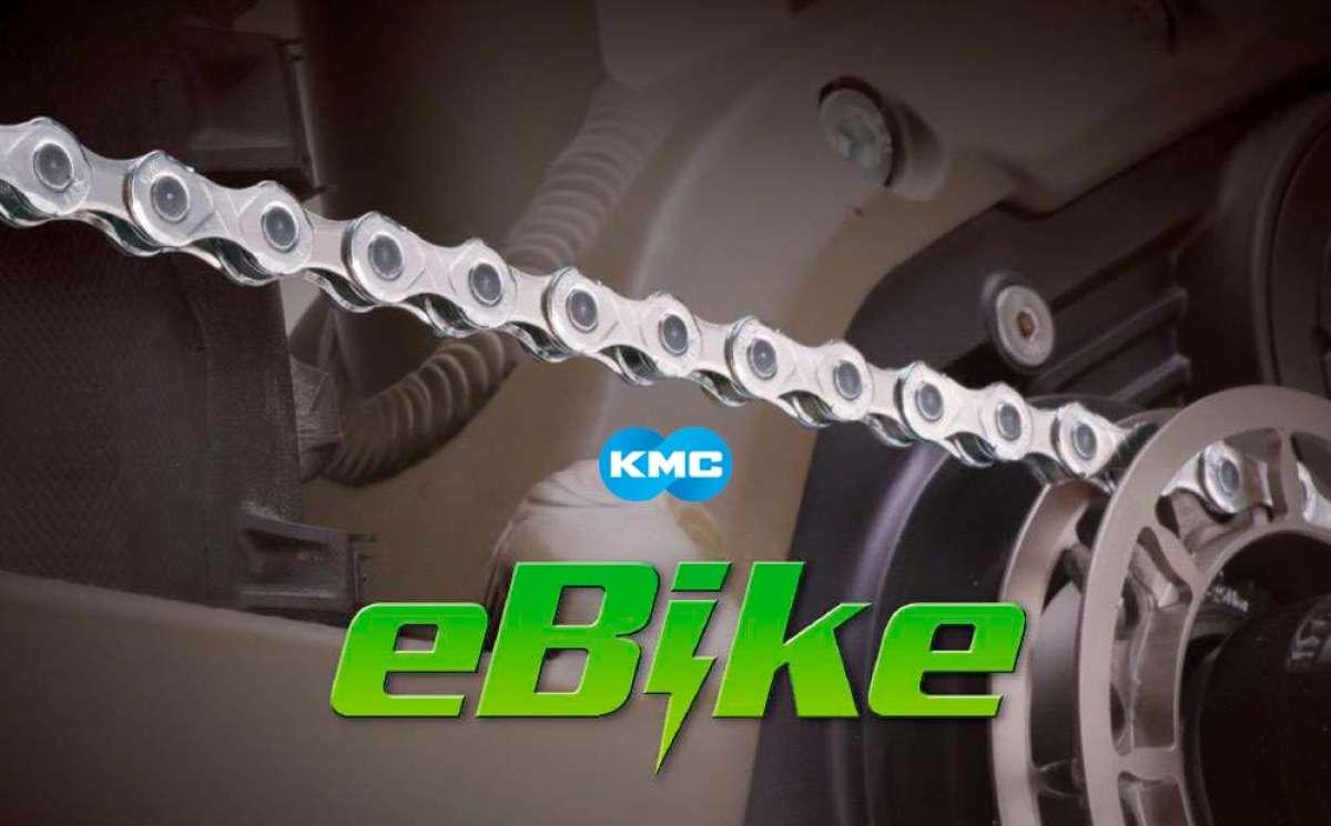 KMC presenta las cadenas TurboPower para bicicletas eléctricas: 10.000 kilómetros de durabilidad garantizados
