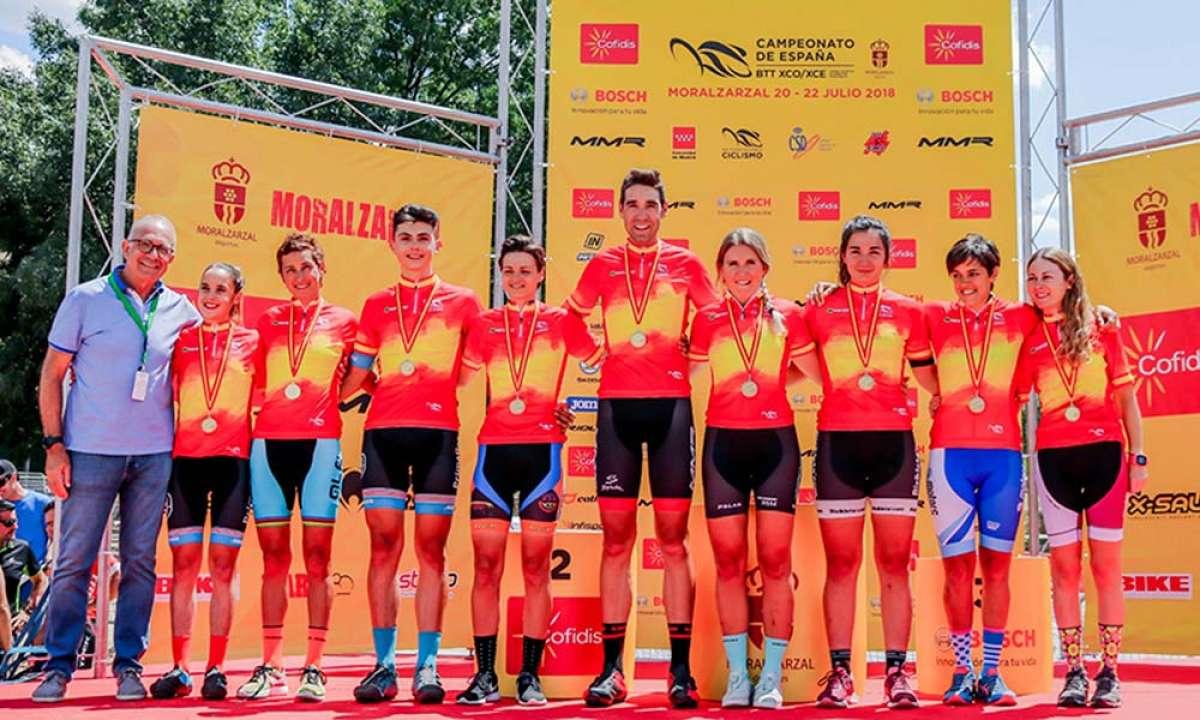 Fechas y sedes de los Campeonatos de España de XCO, Maratón, UltraMaratón y Enduro de 2019