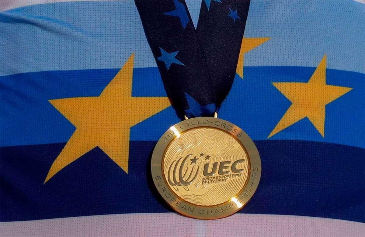 Fechas y sedes de los Campeonatos de Europa de XCO-XCE-XCR, Descenso, XC UltraMaratón, BMX y Ciclocross