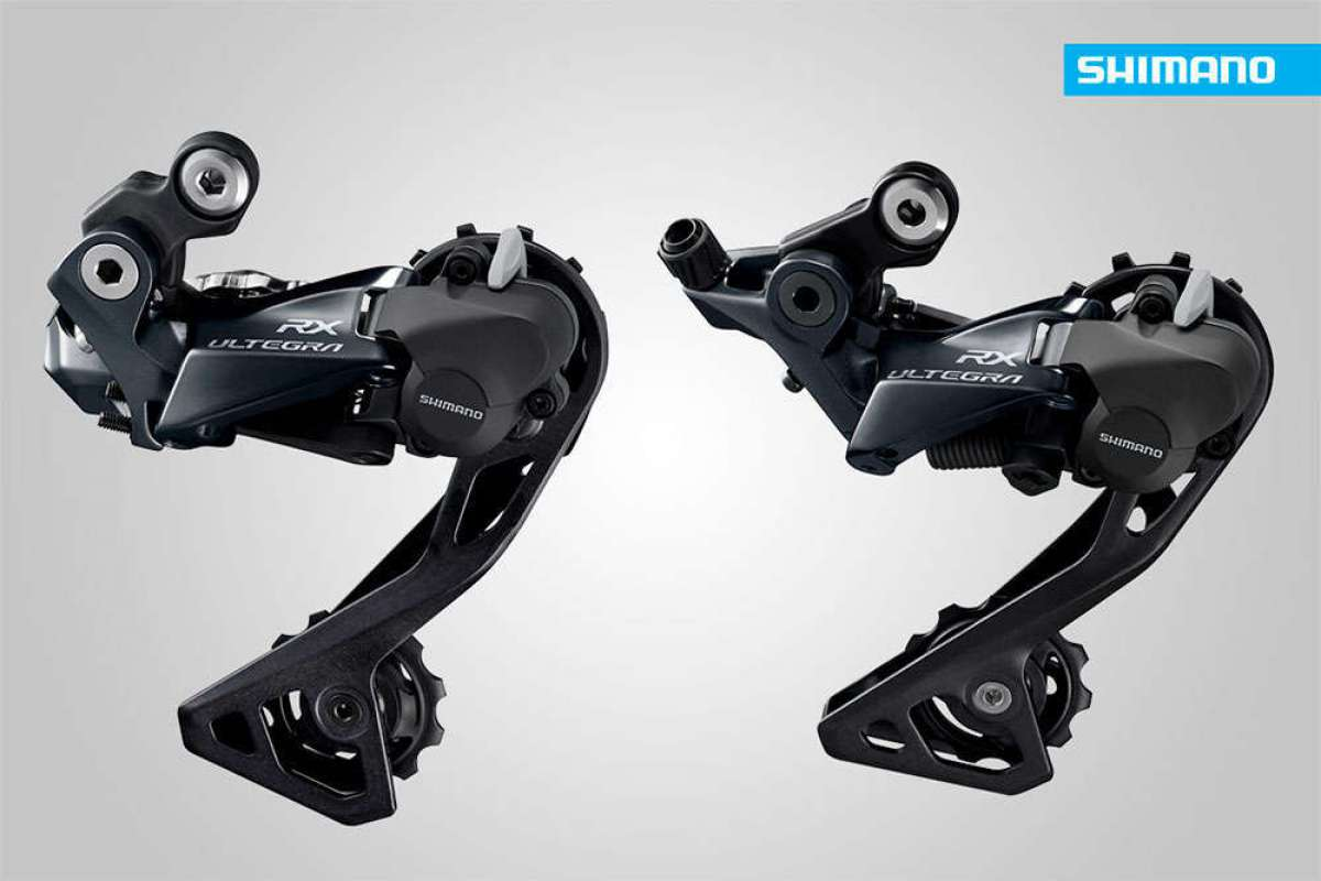 Adiós a los ruidos y vibraciones de la cadena con los cambios traseros Shimano Ultegra RX