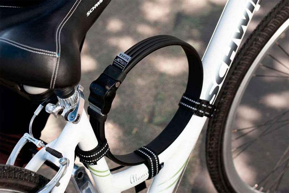 Litelok Silver, el candado para bicicletas más ligero del mundo en su categoría