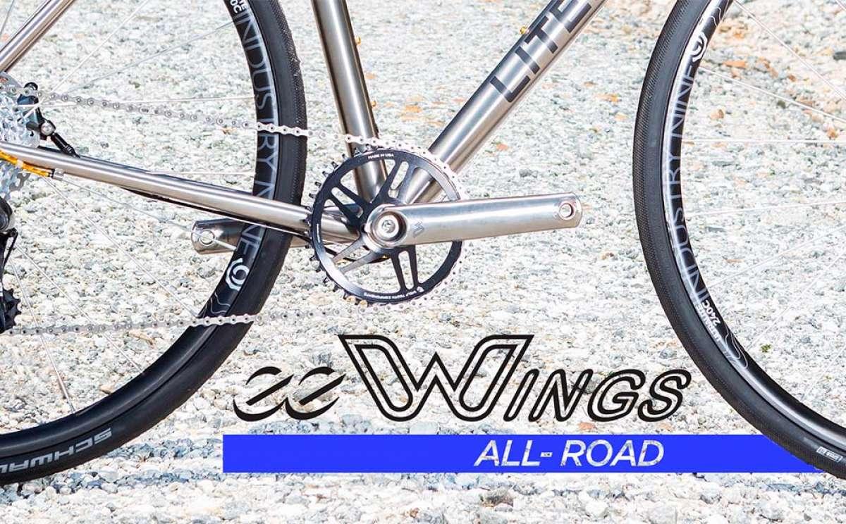 Cane Creek lanza las eeWings All-Road, unas bielas de titanio para bicicletas de Carretera, Gravel y Ciclocross
