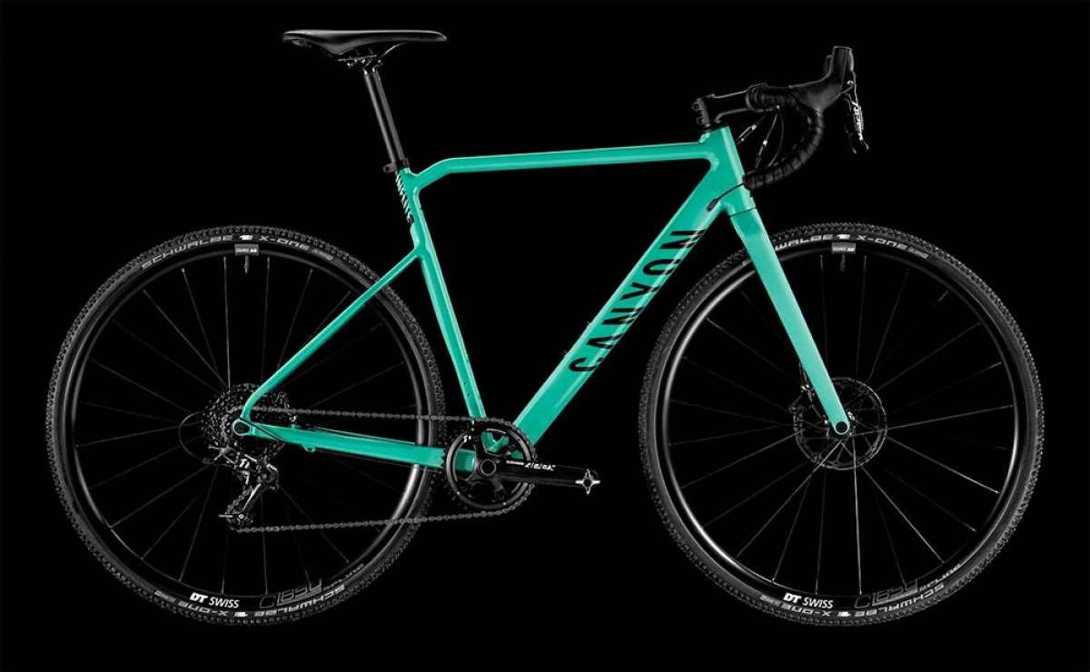 Canyon introduce la Inflite AL SLX, una máquina de Ciclocross/Gravel con cuadro de aluminio y precio muy tentador