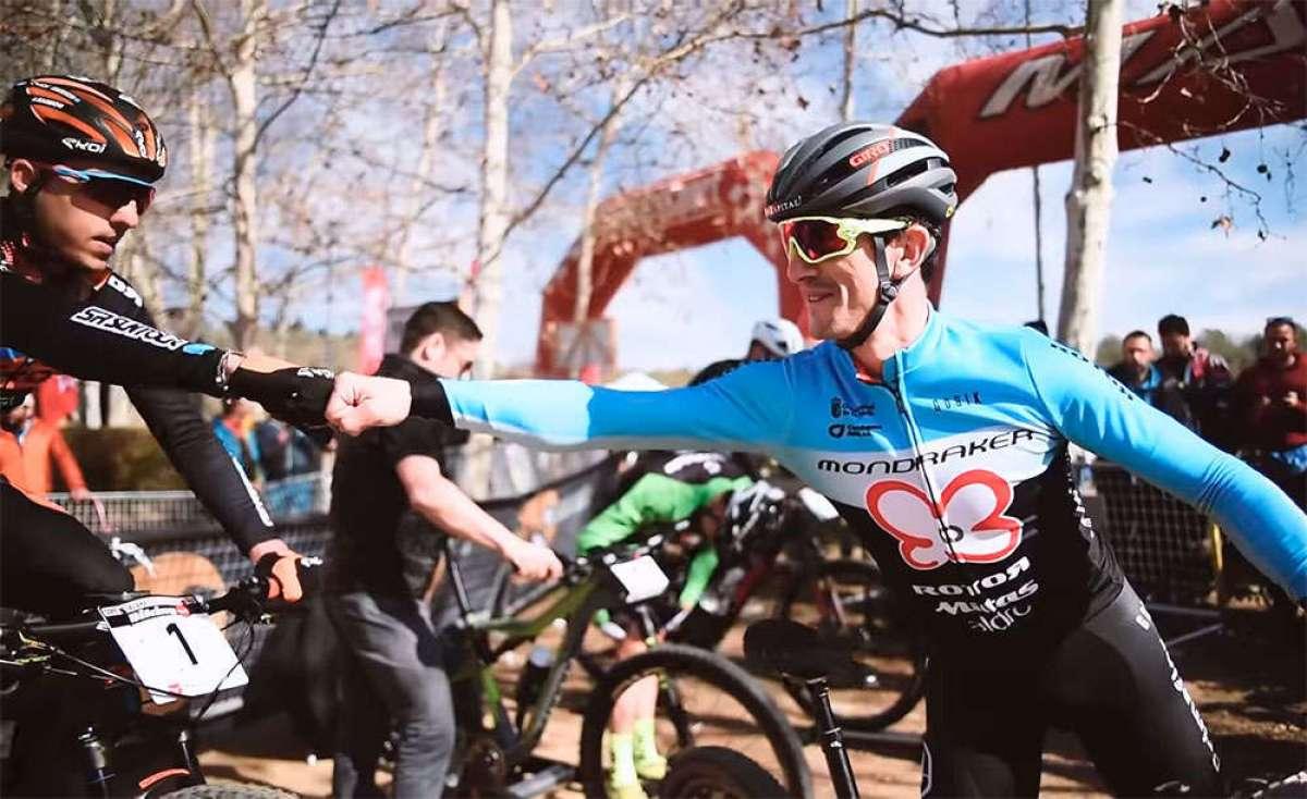 La Copa Catalana Internacional BTT Biking Point 2018 de Banyoles, con Carlos Coloma