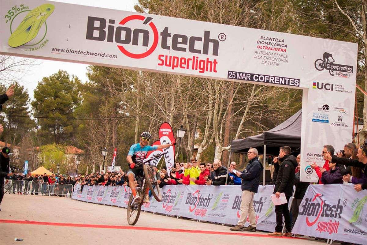Así fue la carrera de Carlos Coloma en el Superprestigio MTB Biontech 2018 de Cofrentes