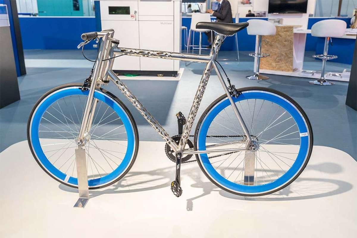 En TodoMountainBike: Barcelona acogerá la primera carrera de bicicletas impresas en 3D