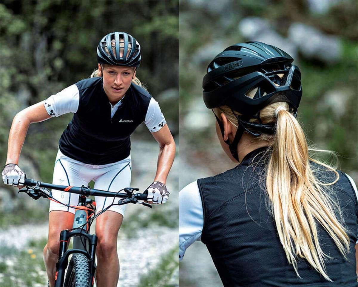 En TodoMountainBike: ABUS Aventor, un ventilado casco de XC/Maratón/Carretera también apto para ciclistas de pelo largo